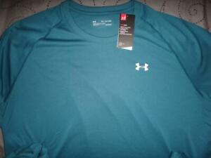 UNDER ARMOUR TECH SHIRT LOOSE FIT SIZE 4XL MEN NWT $$$$