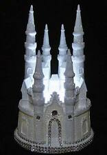 DIAMOND CASTLE CINDERELLA WEDDING CAKE TOPPER LIGHTED CENTERPIECE