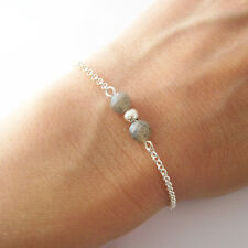 Bracelet labradorite et argent 925/1000e BR79