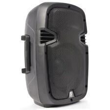 "ENCEINTE PORTABLE MOBILE ACTIVE AMPLIFIEE 15"" 800W BATTERIE USB/SD/MP3/BLUETOOTH"
