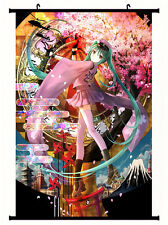 VOCALOID Miku Senbon Sakura Home Decor Poster Wall Scroll Paintings 60cm*40cm