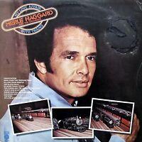 Merle Haggard - 5 vinyl Bundle (2 with The Strangers) - Ex.Condition