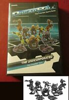 Dreadball MGDBM102 The Unicorporated Rebs Team (10) Miniatures Alien Players NIB