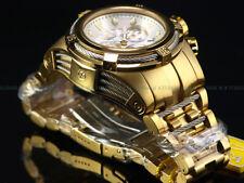 NEW Invicta Reserve 52mm Bolt Zeus Swiss Chronograph 18K Gold IP SS Diver Watch