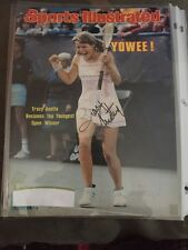 AUTOGRAPHED SPORTS ILLUSTRATED TRACY AUSTIN SIGNED 1979 TENNIS