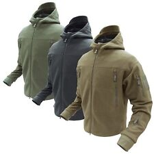 Condor 605 Tactical Sierra Hooded Hunting Micro Fleece Cold Weather Warm Jacket