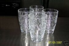 PRINCESS HOUSE FANTASIA  LARGE CLEAR BEVERAGE TUMBLERS / GLASSES