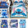 3D  Stitch Kids Bedding Set Duvet Cover Pillowcase Comforter/Quilt Cover
