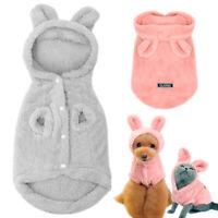 Hunde Pyjama Warm für Kleine Hunde Katzen Kleidung Schlafanzug Chihuahua Mops