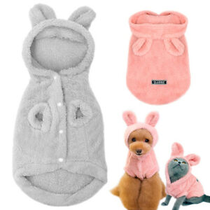 Small Dog Pyjamas S M L XL XXL Pet Puppy Pjs Fleece Clothes Sleepwear Pajamas
