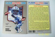 Barry Sanders 1990 Fleer All Pro #4