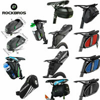 ROCKBROS MTB Road Bike Saddle Bag Pouch Bicycle Seat Cycling Tail Bag US Stock
