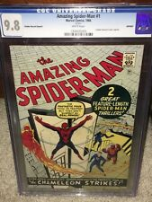 Amazing Spider-Man #1 CGC 9.8 Marvel 1966 Golden Record! White Pages! F4 125 cm