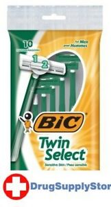BL Bic Shaver Mens Two Select Sensitive 10 Count - Two PACK