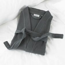 Great Knot Waffle Robe in Charcoal Medium 114cm