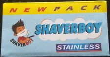 8 ShaverBoy Stainless DE Safety Razor Blades