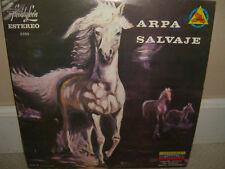Freddy Leon Productions Arpa Salvaje - Rare Venezuelan Folklore LP in NM Cond L5