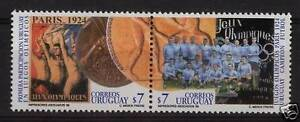 1924 Paris Football soccer olympic 1930 world cup URUGUAY Sc#1815 MNH STAMP cv$4