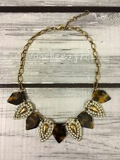 Crystal kite tortoise pendant lulu J style statement crew necklace US SELLER