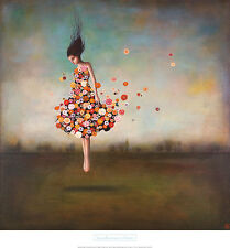 26x28 ART PRINT POSTER - Boundlessness in Bloom by Duy Huynh woman fantasy Girl