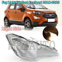 2PCS Bumper Fog Lights For Ford Ecosport 2018 2019 2020 Driving Lamps Left+Right