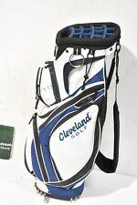 Cleveland Cart Bag / 13-Way / Black, Navy Blue, White / CLGCAR033