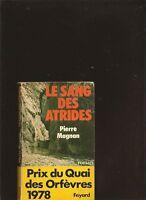 Le sang des Atrides de Pierre Magnan | Livre | d'occasion