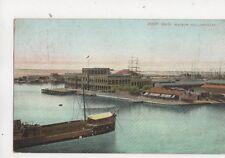 Port Said Maison Hollandaise Egypt Vintage Postcard 442b