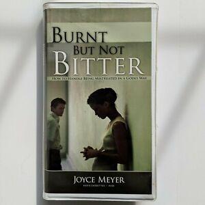 Audio Cassettes Joyce Meyer Burnt But Not Bitter Christian Ministries Self Help