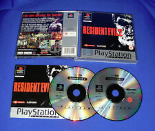 SONY PLAYSTATION PS1 GAME RESIDENT EVIL 2  UK / PAL DISC'S EXCELLENT