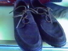 Polo Ralph Lauren suede shoes mens size 10 DESIGNER 1980'S