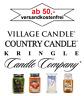 Village Candle / Country Candle / Kringle große Duftkerze