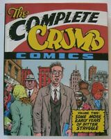 the COMPLETE CRUMB COMICS #2 HC signed #ed 47 1988 FANTAGRAPHICS R FREE SHIP