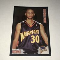 2009 Panini Sticker Steph Stephen Curry RC Rookie Mint Invest #263