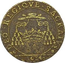O3527 RARE Jeton Henri IV Champagne Ardennes Louis III Guise Archevêque 1614