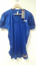 Under Armour Mens Football Practice Jersey, blue, Size:L