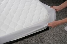 SINGLE BED WETTING VINYL PLASTIC FITTED MATTRESS COVER SHEET PROTECTOR - NEW