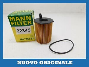 Cartridge Oil Filter Original Mann Filter For FORD C-Max