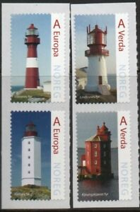 2015 NORWAY Lighthouses NK 1910-13  MNH
