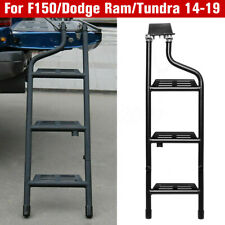For Ford F150 Dodge Ram Tundra Rapto 2014-2019 Pickup Truck Step Tailgate Ladder