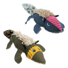 Sotnos SNUFFLERS Tough Squeaky Dog Toy   Reinforced Canvas Double Stitched Plush