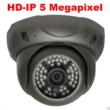 5Mp 2592P Network PoE 48Ir Weatherproof Hd-Ip Security Camera VandalProof 32E#!
