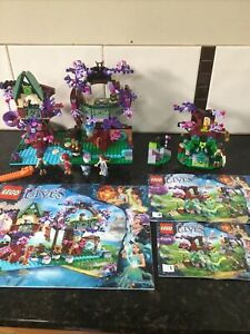 Lego The Elves Treetop Hideaway 41075 & 41076 Farran and the crystal hollow