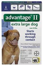 Advantage II For X-Large Dogs Over 55 lbs. ONE (1) TREATMENT