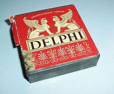 Alte Cigaretten Blechdose Delphi Dresden vor 1945 Zigarettendose !