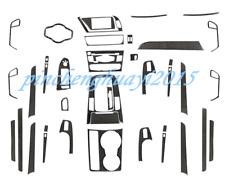 39PCS Real Carbon Fiber Car Interior Kit Cover Trim For Audi A4L A5 2009-2016