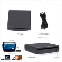 Black Shell 1Din HD Car Off-Road External Radio DVD Player Stereo USB Interface