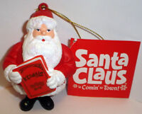 SANTA CLAUS IS COMIN' TO TOWN Santa List ORNAMENT NEW W TAG Mickey Rooney