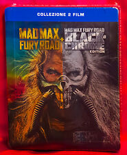 Mad Max: Fury Road Black & Chrome Limited Edition Steelbook NEW