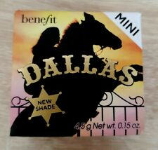 Benefit Dallas MINI Blush 4.5g New Boxed with Brush Genuine